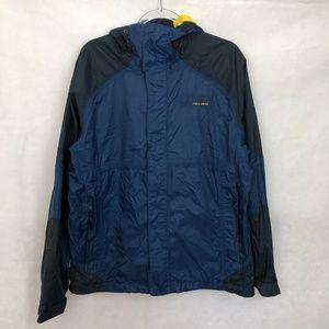 Columbia FG Hooded Packable Windbreaker Rain Coat